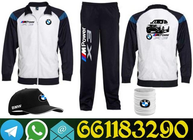 calidad de marca atractivo y duradero el precio más bajo BMW CHANDAL + GORRA + BRAGA DE CUELLO