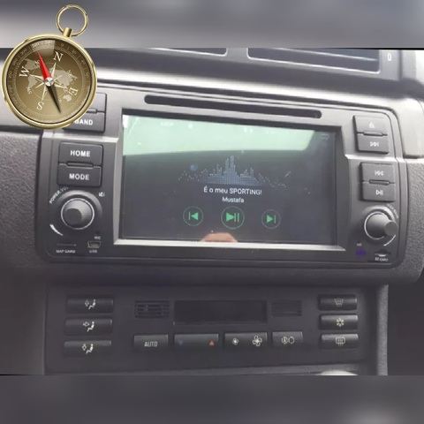 GPS DVD BMW SERIE 3 E46 M3 COMPAC MG ZT - foto 2