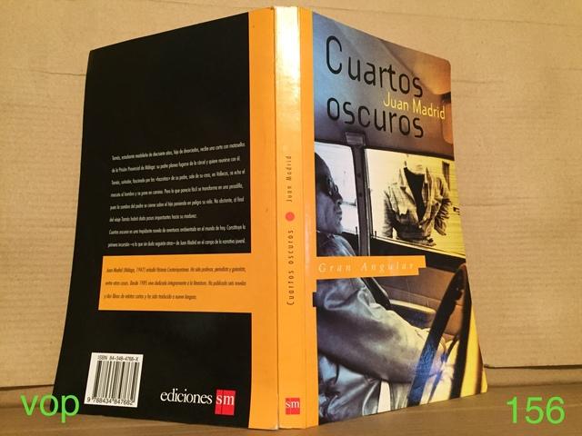 LIBRO CUARTOS OSCUROS