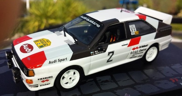 Audi Quattro A2 Rallye Sweden 1981 H. Mi