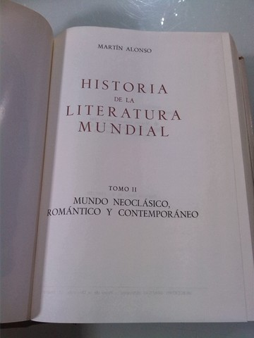HISTORIA DE LA LITERATURA MUNDIAL. -W - foto 7