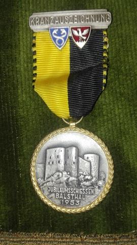 Medalla Suiza.1953