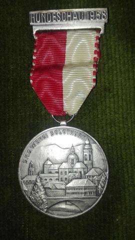 Medalla Suiza.1958