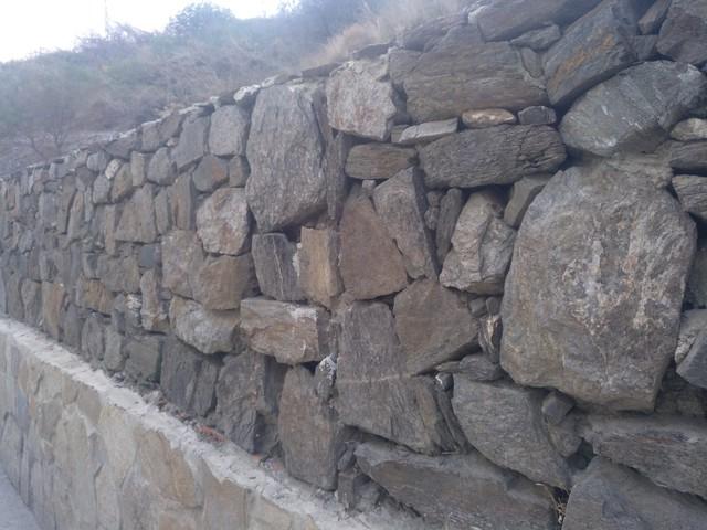Mil anuncios com muros de piedra y gaviones - Muro de piedra natural ...
