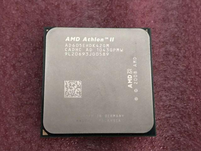 AM3 ATHLON II X4 605E 2. 3GHZ SOCKET AM2+ - foto 2