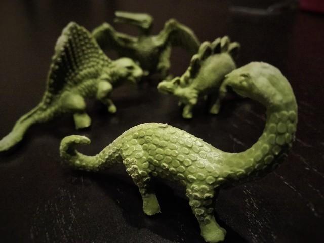 Antiguas Figuras Dinosaurios Colección