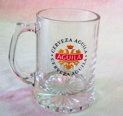 Jarra Cristal Cerveza Aguila