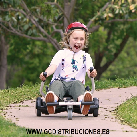 SCOOTER CON ASIENTO .  PACK COMPLETO - foto 1