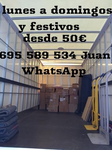 MUDANZAS ECONÓMICAS Y SEGURAS DESDE 50EU - foto 1