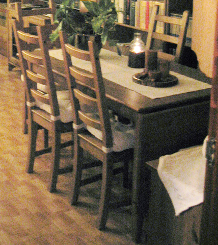 MIL ANUNCIOS.COM - Mesa comedor + 6 sillas de ikea