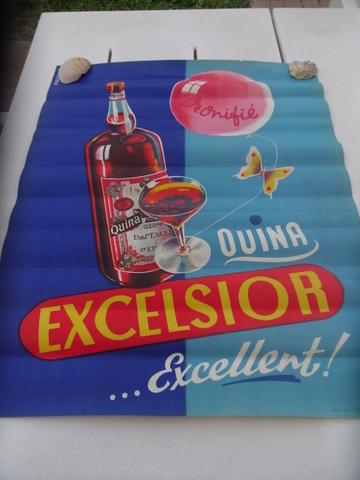 Cartel Quina Excelsior