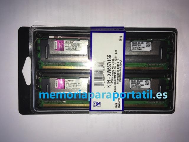 16GB PC2 5300F 667 REGISTERED SERVIDOR - foto 2