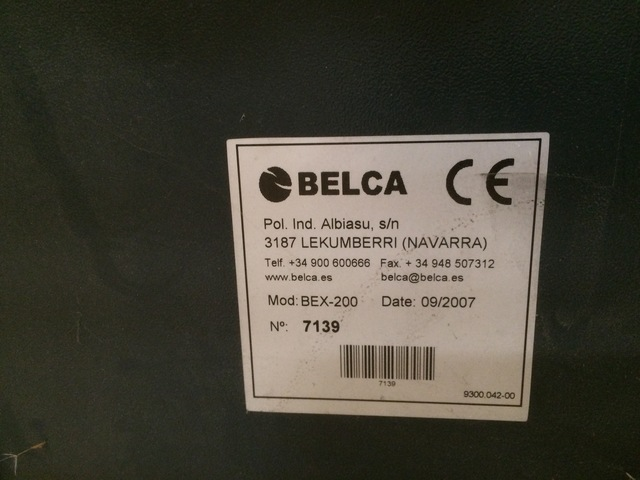 ENFARDADORA BELCA MODELO BEX-200 - foto 3