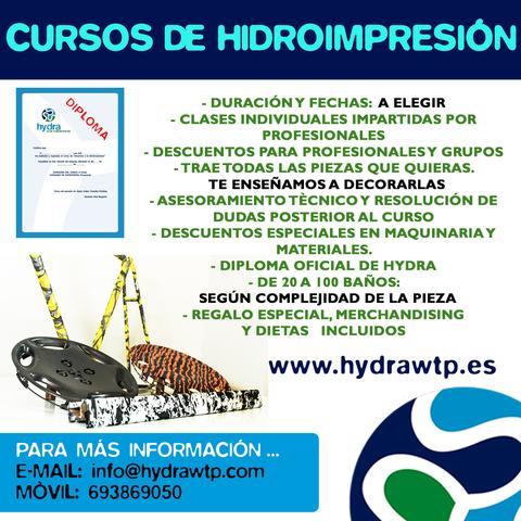 CURSOS HIDROIMPRESION - foto 1