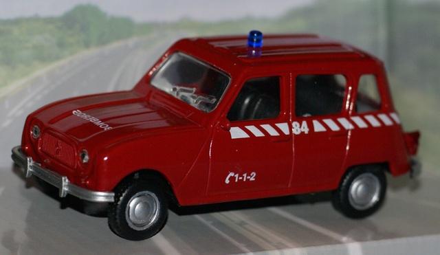 Renault 4 Bomberos Escala 1:43 De Mondom