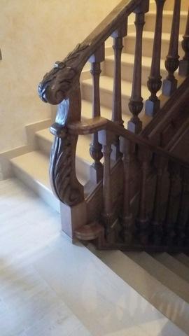 Barandillas Escaleras Tornero Madera