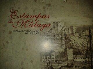 Litografias Malaga Antigua 40X30