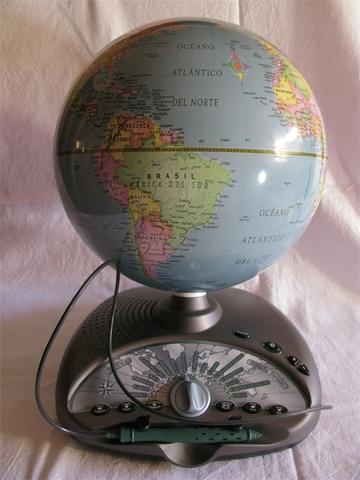 Bola del mundo interactiva precio