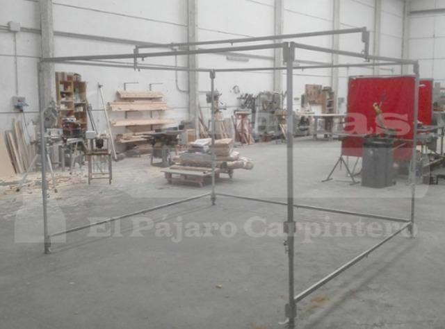 FABRICACIÓN DE PARADAS DE MERCADILLO - foto 1