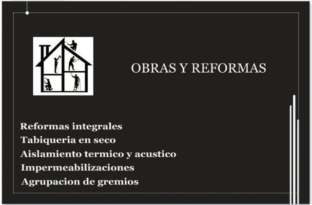 OBRAS,  REFORMAS,  REHABILITACIONES - foto 1