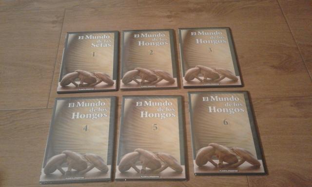 Dvd El Mundo De Los Hongos