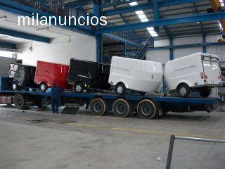 REMOLQUE CERRADO FIBRA MOTOS KART QUADS - foto 1