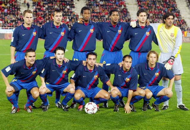 NIKE FC BARCELONA 2002-2003 - foto 3