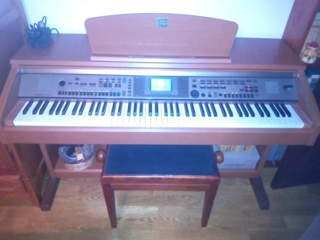 YAMAHA PIANOLA CVP 301 - foto 3