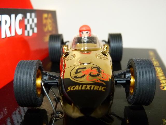 "ENVIO GRATIS!!! SCALEXTRIC SHARKNOSE 156 F1 1961 /"" 50 ANIVERSARIO/"""