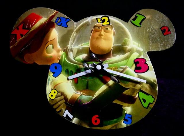 Toy Story 3 - Reloj De Pared