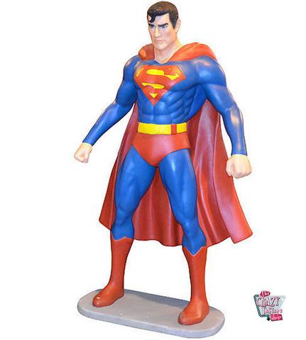 decoraciones de la sala de superman FIGURA DECORACIN SUPER HROE SUPERMAN