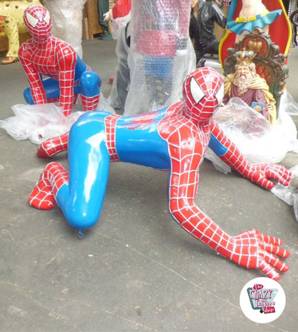 Figura Decoración Super Heroe Spiderman