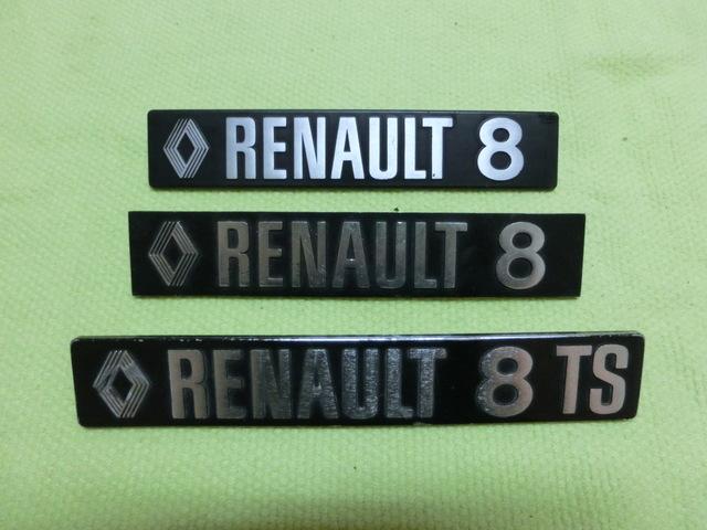 EMBLEMA RENAULT 8(EL DL MEDIO D LA FOTO) - foto 1