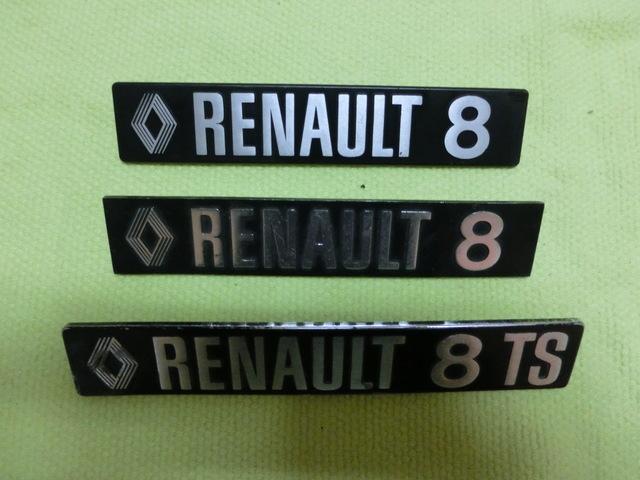 EMBLEMA RENAULT 8(EL DL MEDIO D LA FOTO) - foto 2