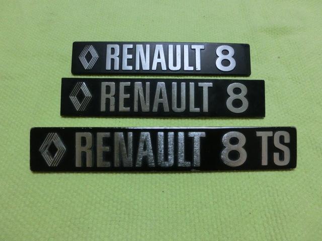 EMBLEMA RENAULT 8(EL DL MEDIO D LA FOTO) - foto 3