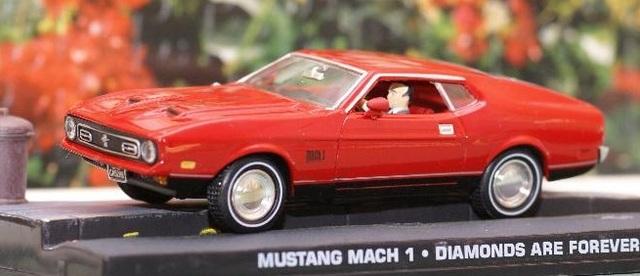 Ford Mustang Mach 1 Escala 1:43 En Su Ca