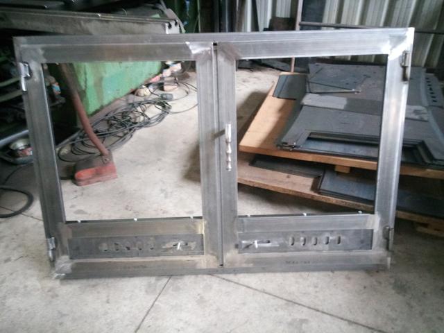 Fabricación De Puertas Para Chimeneas.