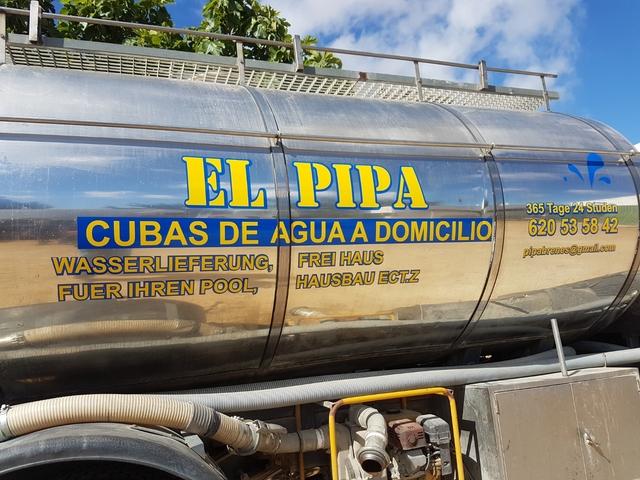 DISTRIBUCIÓN DE AGUA EL PIPA - foto 4