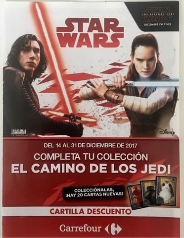 Lote Nuevas Cartas Star Wars Jedi