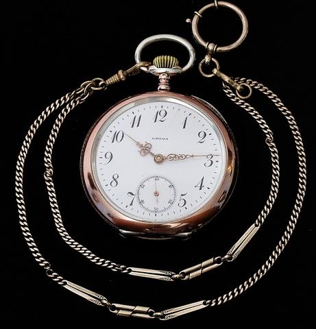 Omega Reloj Antiguo De Bolsillo Vendido
