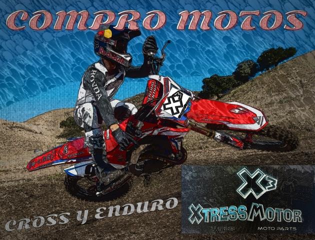 COMPRO MOTOS MOTOCROSS Y ENDURO - foto 1