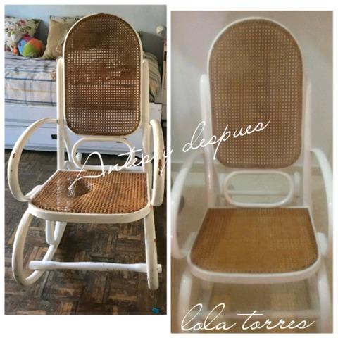 MIL ANUNCIOS.COM Arreglo de sillas de rejilla mimbre