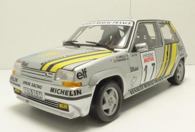 Renault 5 Gt Turbo Rallye Tour De Corse