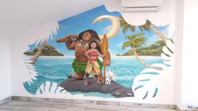 MURAL CON GRAFFITI,  ROTULOS,  CARTELES PI - foto 3