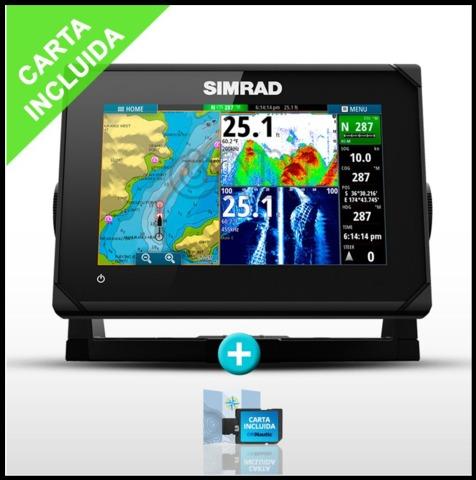 SONDA GPS PLOTTER SIMRAD GO7 X CON CARTA - foto 1