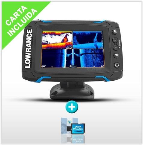SONDA GPS PLOTTER LOWRANC ELITE-5  CARTA - foto 1