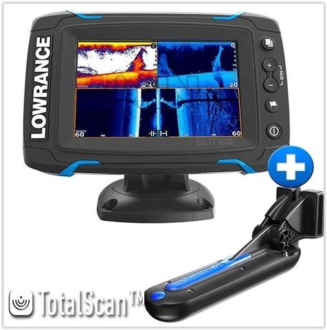 SONDA GPS PLOTTER LOWRANC ELITE-5  CARTA - foto 4