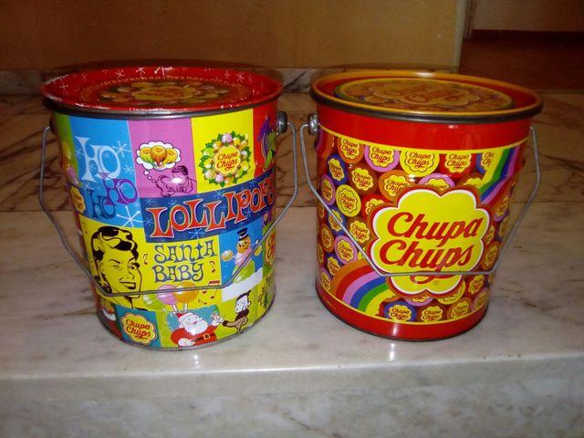 Latas Chupachups Años 80