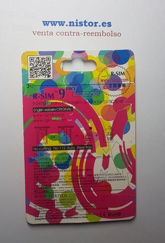 R-SIM 9 PRO IPHONE 4S 5 5C 5S DESBLOQUEA