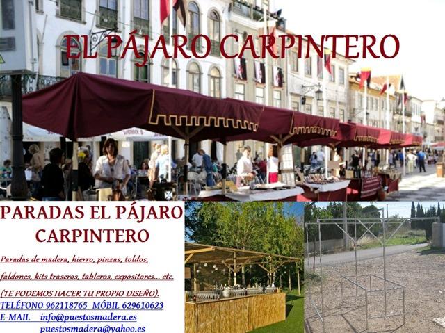 CASETAS DE MERCADILLO GALVANIZADAS - foto 9